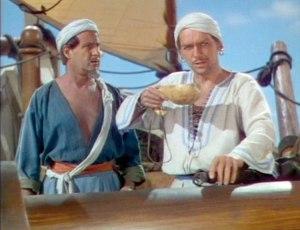 Sinbad the Sailor, as portrayed by Douglas Fairbanks Jr.