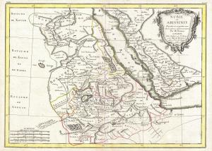 1771 Map of Abyssinia