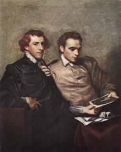 George Huddesford and John Bampfylde by Sir Joshua Reynolds