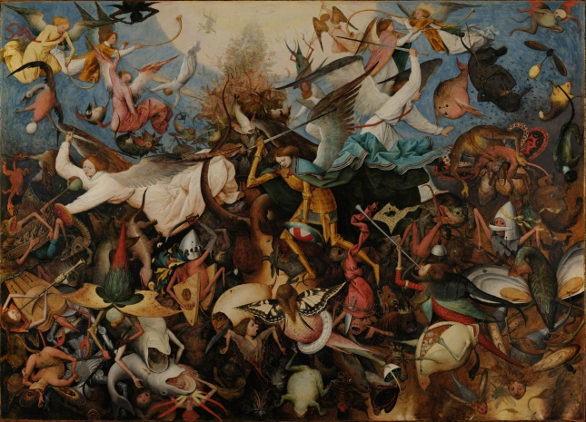 Fall of the Rebel Angels, by Pieter Bruegel the Elder