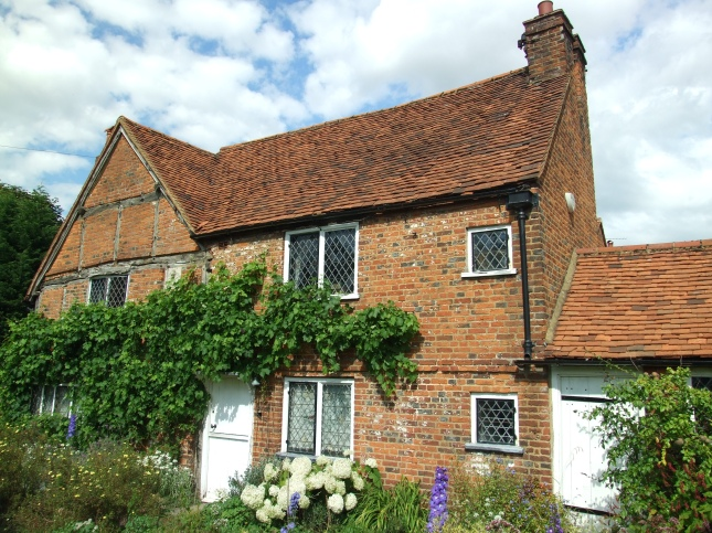 The Cottage of John Milton (in which he briefly dwelt)