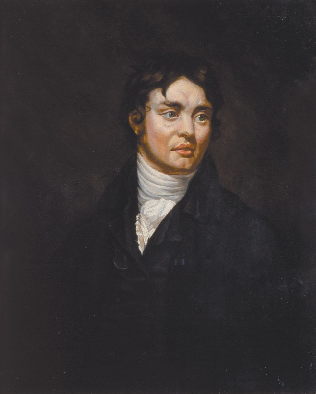 Samuel Taylor Coleridge, as painted by James Northcote, 1804