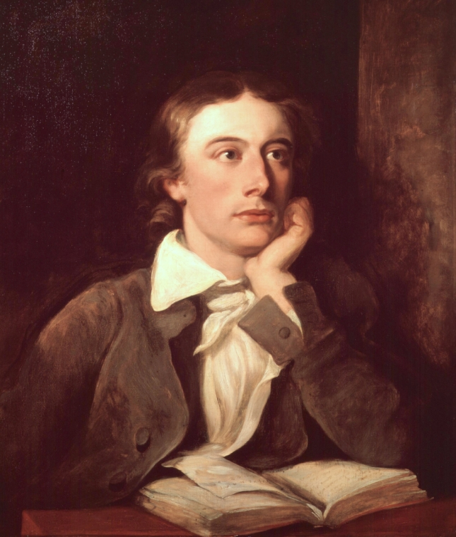 John Keats, painted by William Hilton