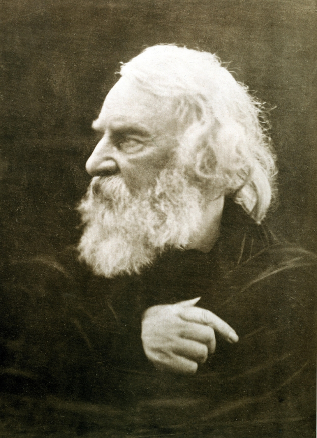 Henry Wadsworth Longfellow, photographed by Julia Margaret Cameron, 1868