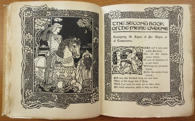 An illustrated Faerie Queene