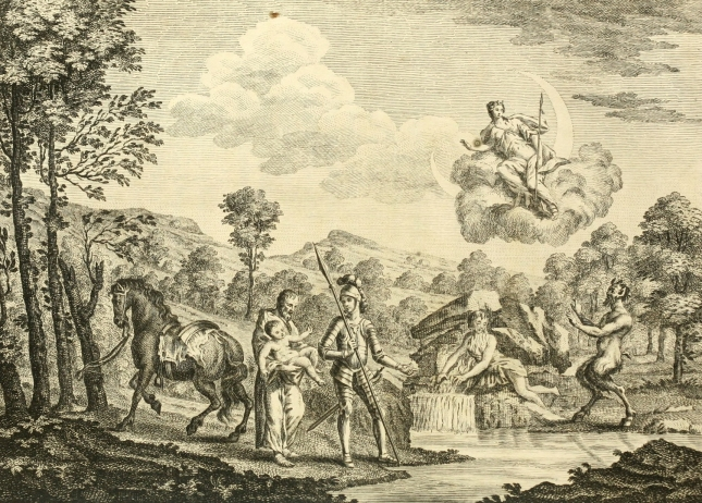 Guyon and Palmer in Faerie Queene