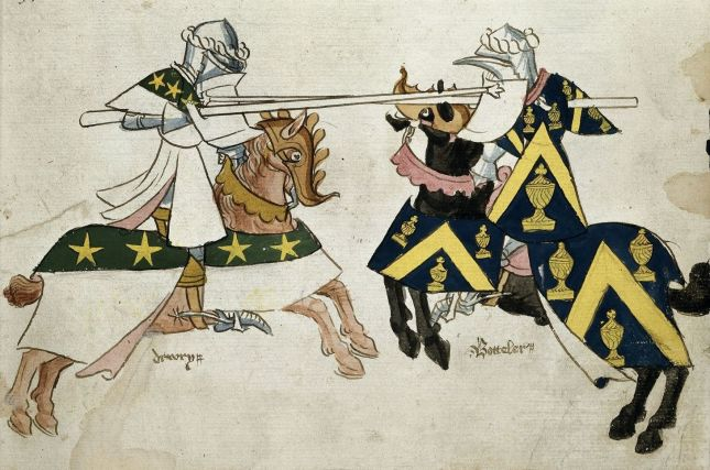 Knights in a Joust