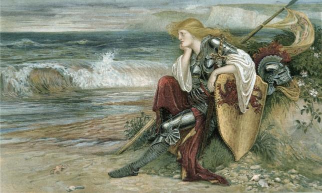 Britomart, by Walter Crane (1900)